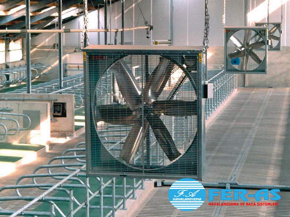 Çiftlik Havalandırma Sistemleri, Tavuk çiftliği havalandırma sistemleri, inek çiftliği havalandırma sistemleri